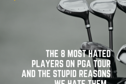 hated players on pgatour